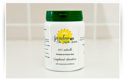 Tabletas de espirulina productor de ventas directas